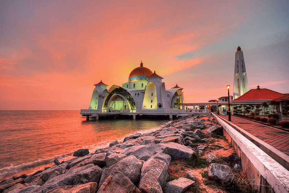 best romantic sunset places halal honeymoon in malaysia