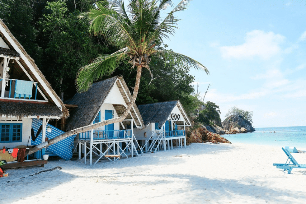 halal honeymoon beach houses in malaysia