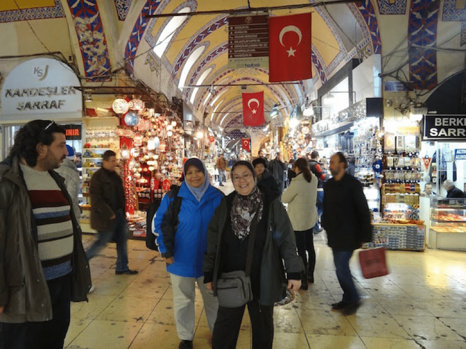 malaysian travellers in turkey