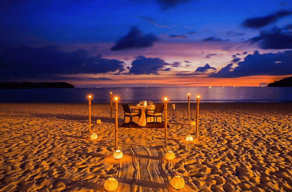 halal honeymoon candlelight dinner places in malaysia