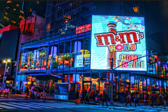 M&M world new york itinerary 4 days for muslims