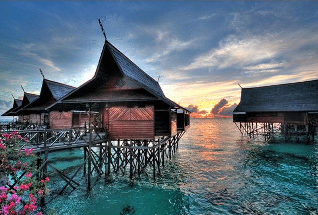 Muslim friendly Sipadan Island