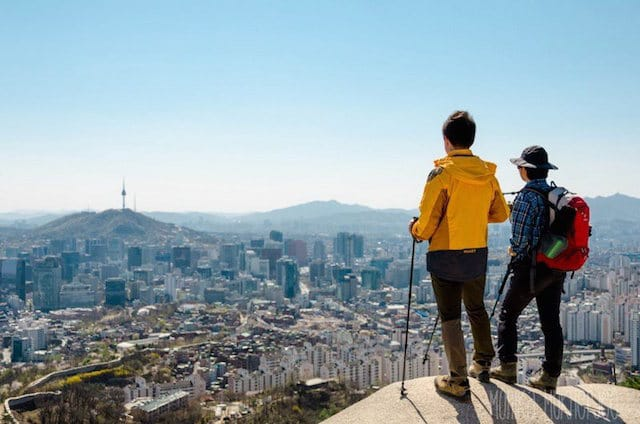Top halal friendly hiking mountains in Seoul Korea