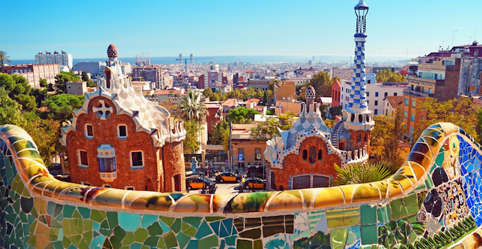 Halal friendly places in Barcelona - Park Guell