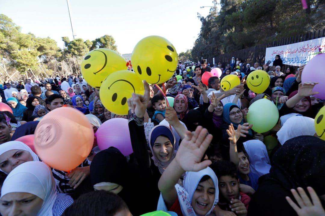 celebrating eid around the world in amman jordan