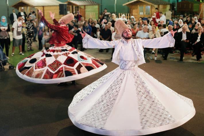 celebrating eid in beirut lubnan