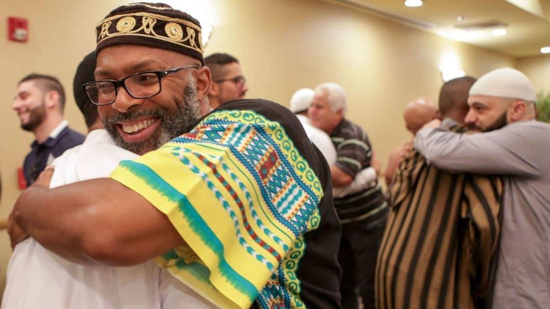 american muslims celebrating eid in california