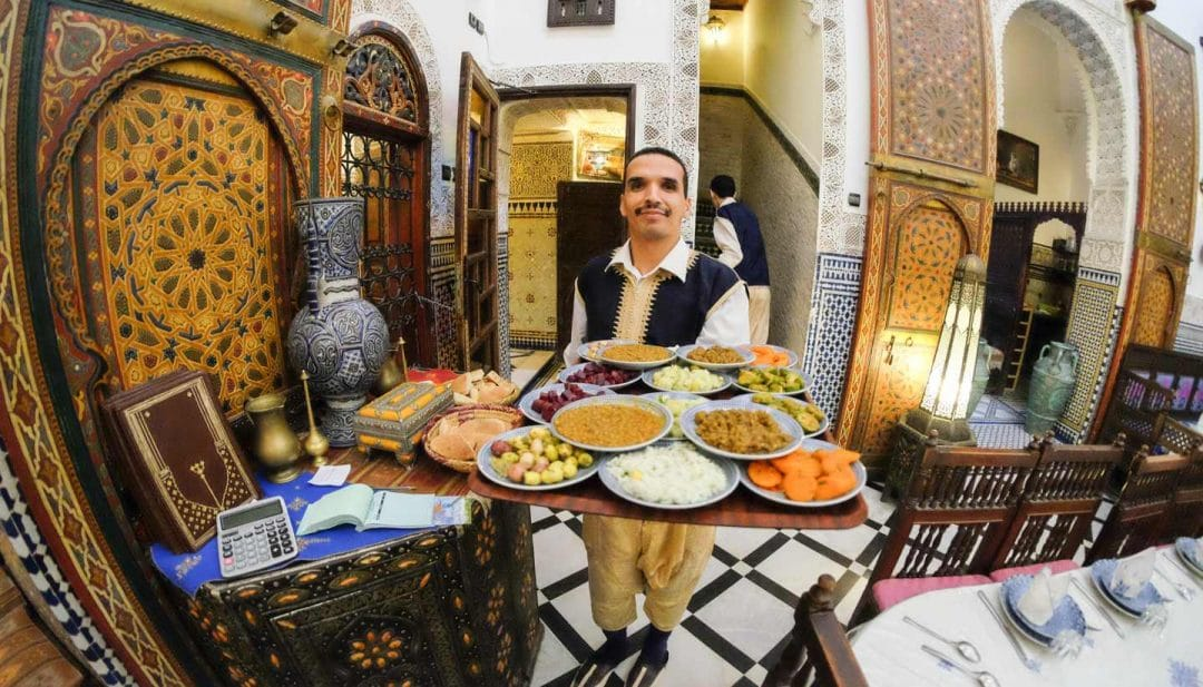 muslim friendly destinations for summer - halal restaurant fez morocco