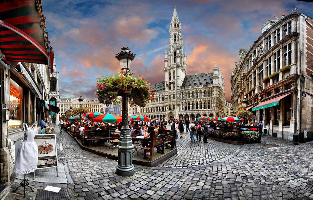 muslim friendly destinations for summers - brussels belgium