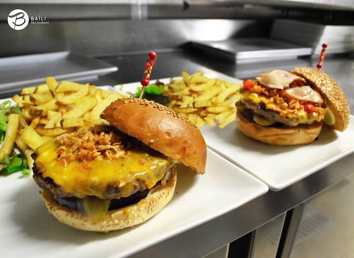 best halal burger in paris - baili restaurant