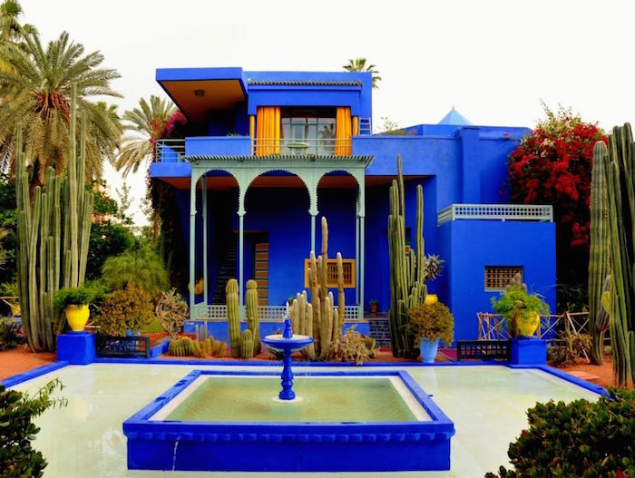 Halal friendly places jardin majorelle