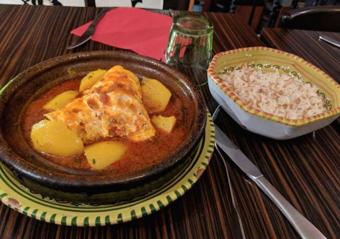 halal tagine in paris - argana restaurant