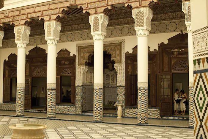 Musee de marrakech in Morocco