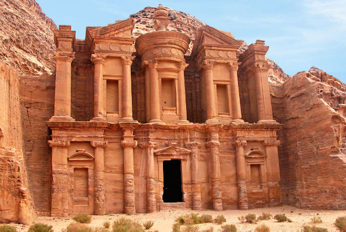 Muslim friendly beautiful places in the world - petra jordan