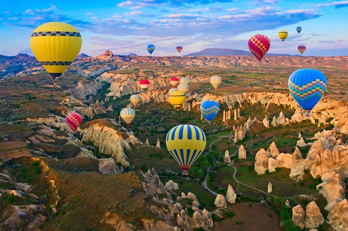 muslim friendly places in the world to visit - cappadocia turkey
