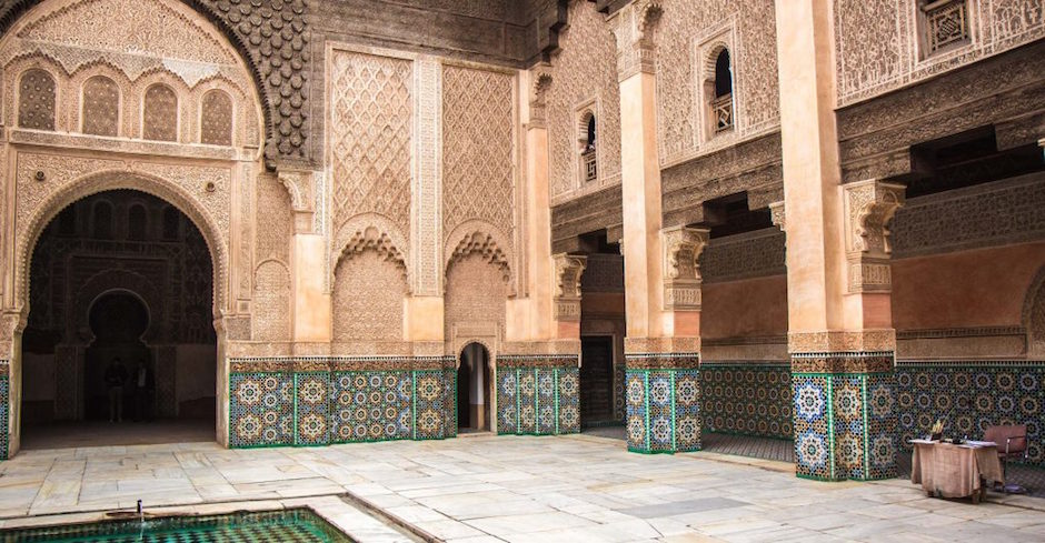 Muslim friendly travel guide to marrakech ali ben youssef medersa