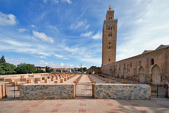Popular mosques in morocco koutoubia mosque