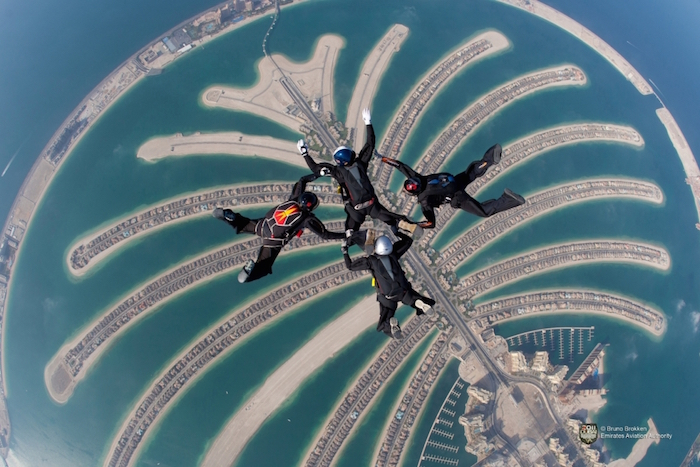 things to do in Dubai - Skydiving Palm Jumeirah