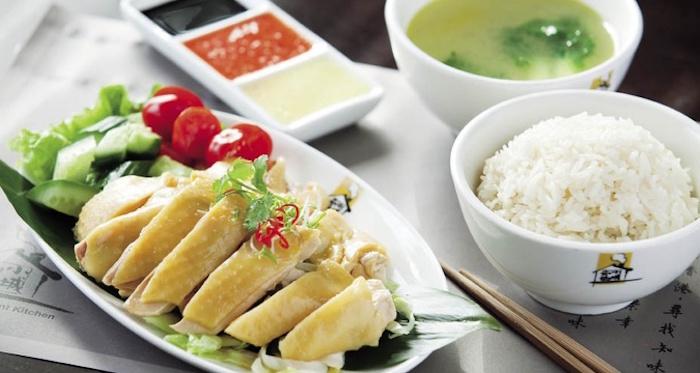 Halal food in Malaysia - Chicken Rice Nasi Ayam