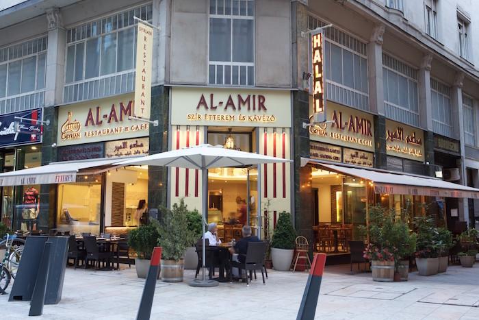 Halal restaurants in Budapest - Al Amir