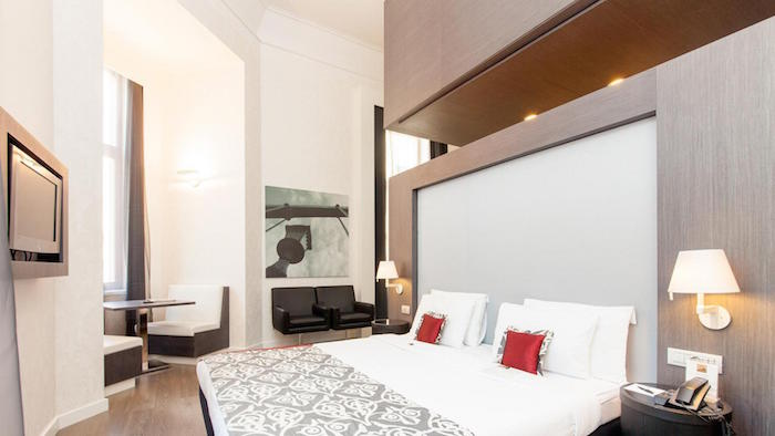 Hotel Palazzo Zichy in Budapest Hungary