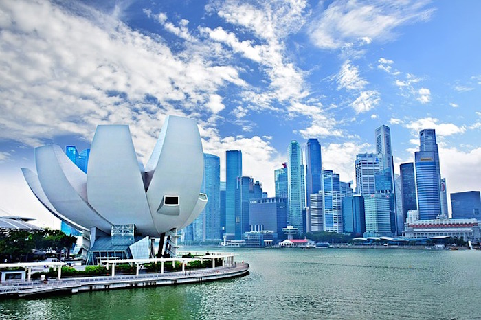 How to save money in Singapore - Marina Bay Park