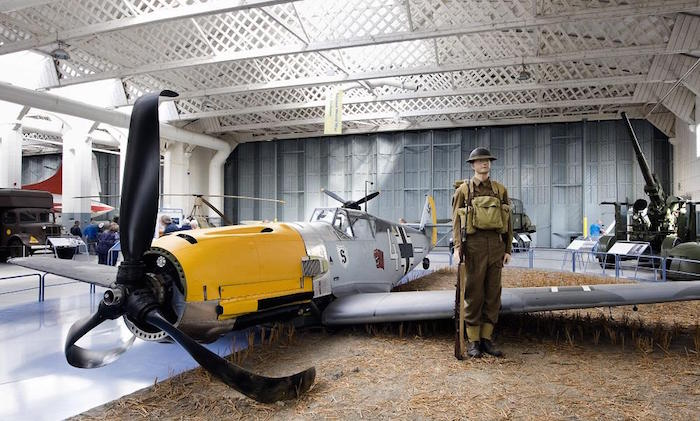 Imperial War Museum in London UK