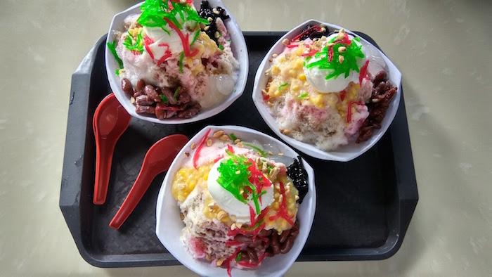 Malaysia Halal local food - Ais Kacang