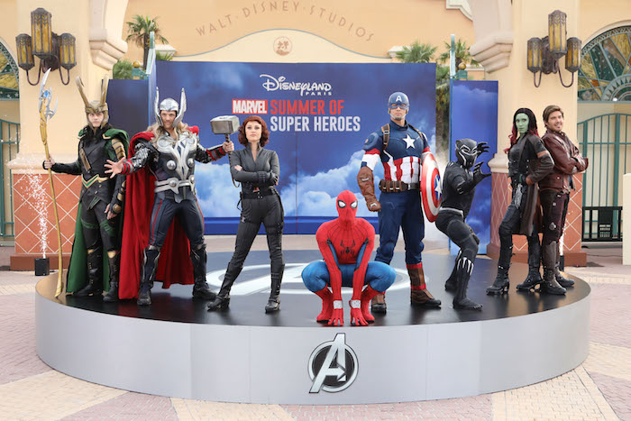 Marvel superheroes walt disney studio paris