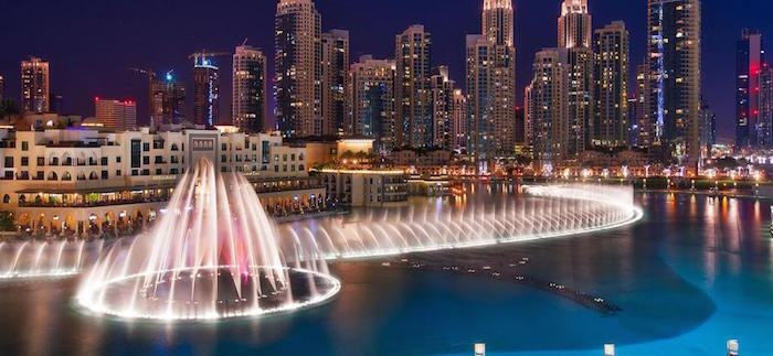 Muslim friendly attractions in Dubai - Fountain show