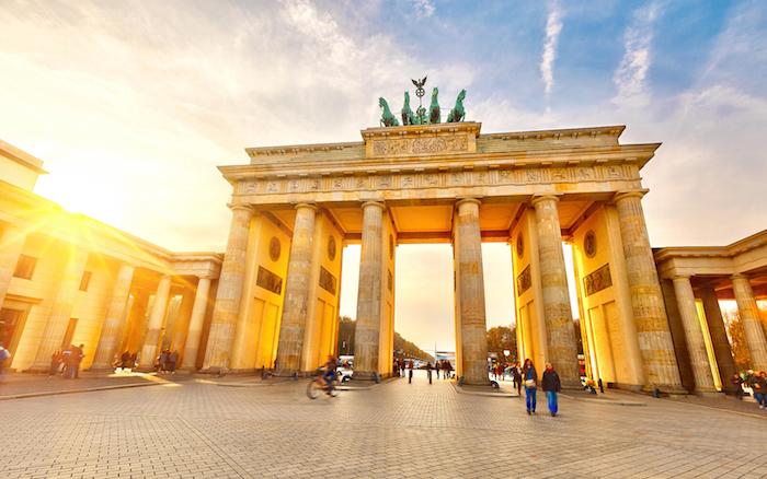 Brandenburg gate in Germany