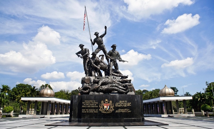 National Monument in Kuala Lumpur