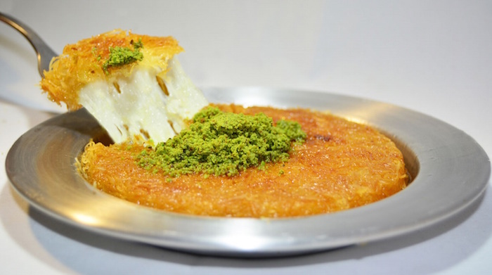 Halal Turkish desserts - Kunefe