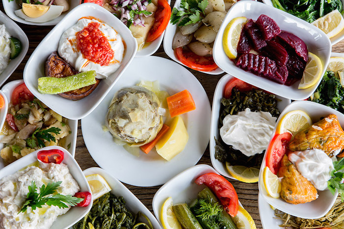Halal Turkish food - Meze