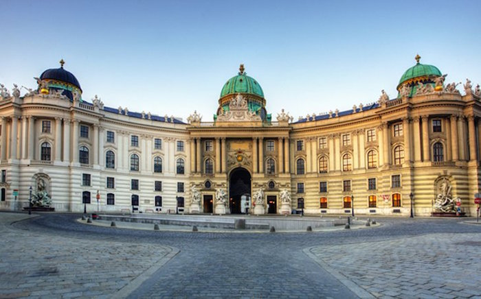 Hofburg palace in Vienna