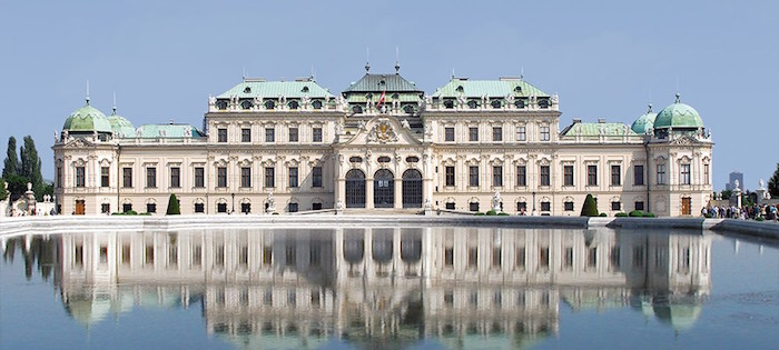 Muslim friendly places in Vienna - Belvedere