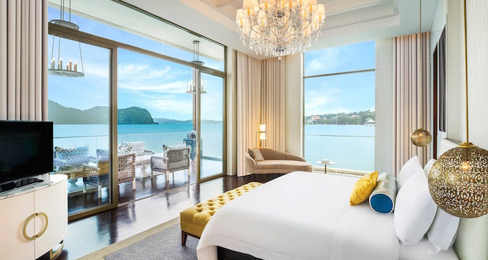 Best luxury hotels in Langkawi for Muslims - St Regis