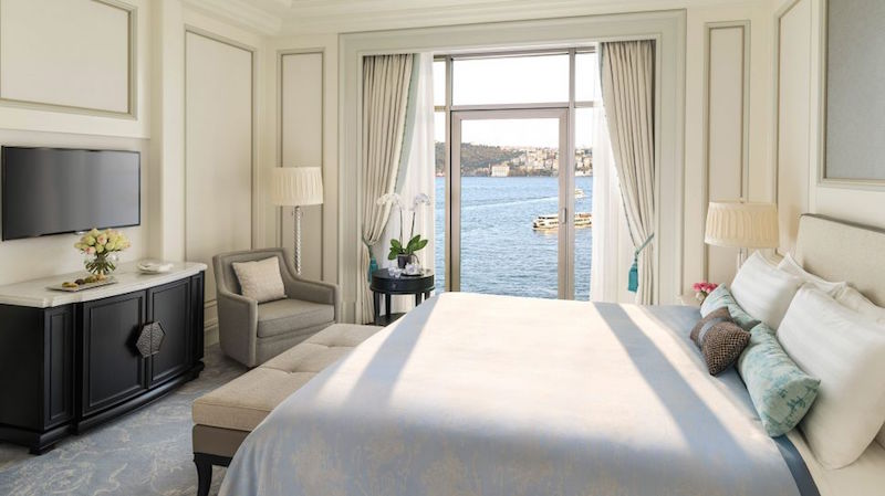 Halal friendly hotel Shangri La Bosphorus Istanbul