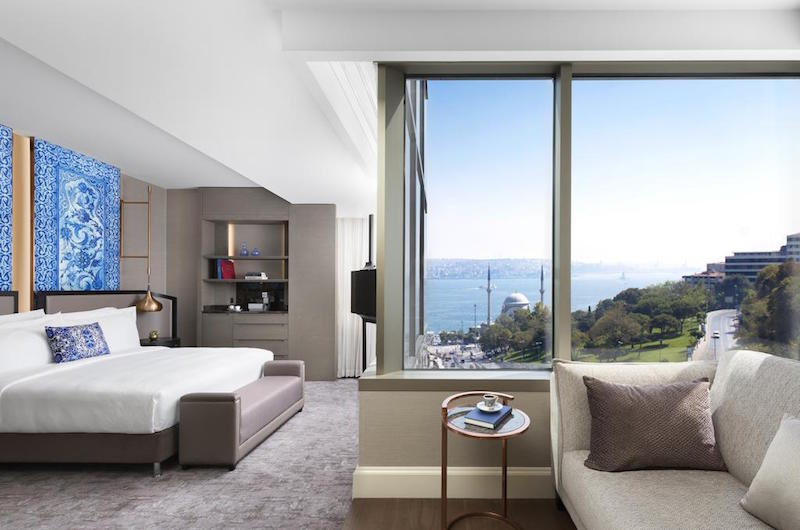 Muslim friendly hotels in Istanbul - Ritz Carlton