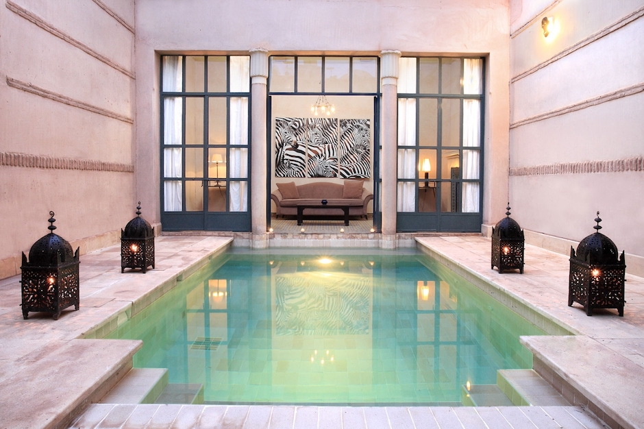 Muslim friendly private pool villa in Marrakech